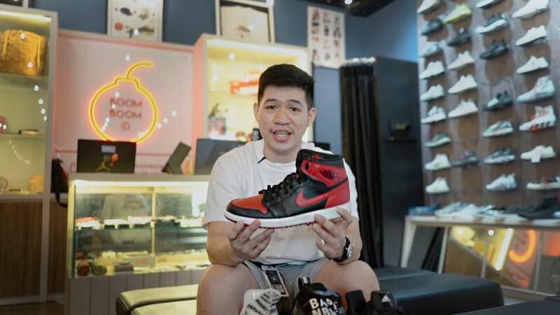 Reynald Gozali Investor Sneakers