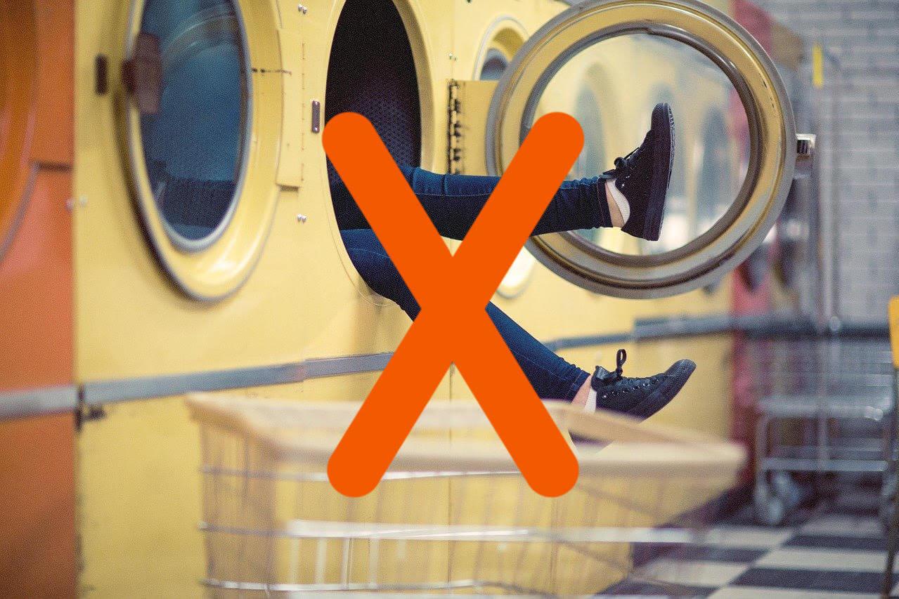 Jangan Pakai Mesin Cuci untuk Sneakers