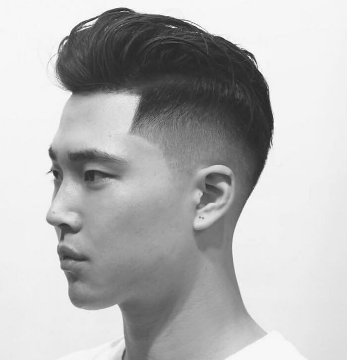 Potongan Rambut Pendek Pria - Disconnected Undercut