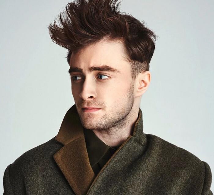 Potongan Rambut Pendek Pria - Natural Quiff