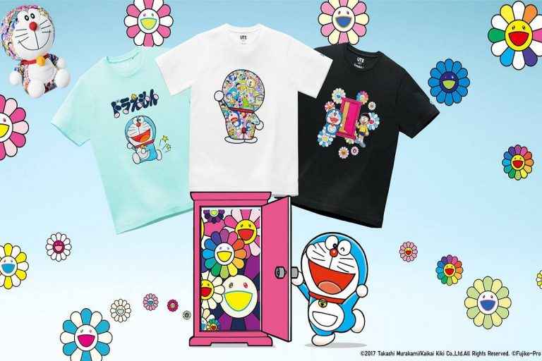 Takashi Murakami Unqlo UT Doraemon