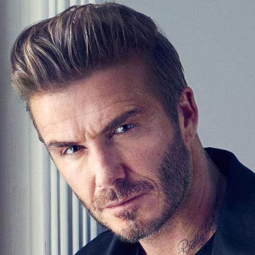 David Beckham - Rambut Sisir Belakang
