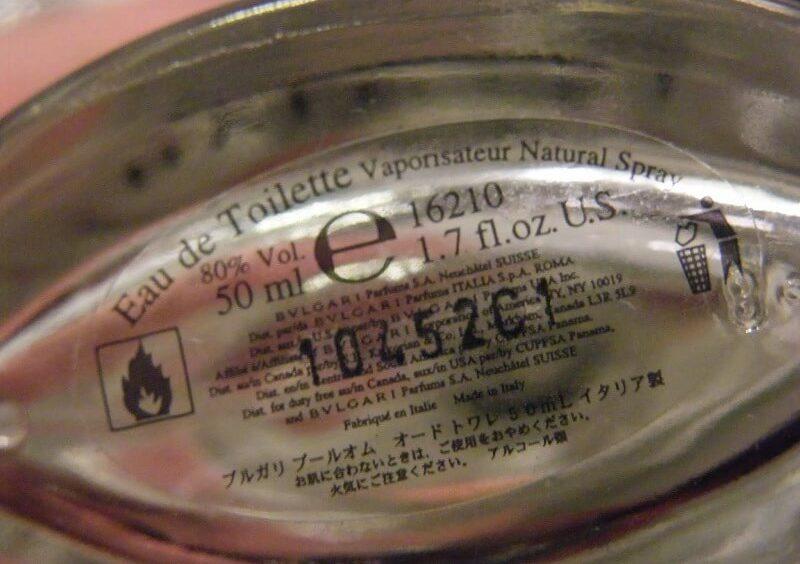 Cara membedakan parfum asli dan palsu - Cek Nomor Seri Parfum