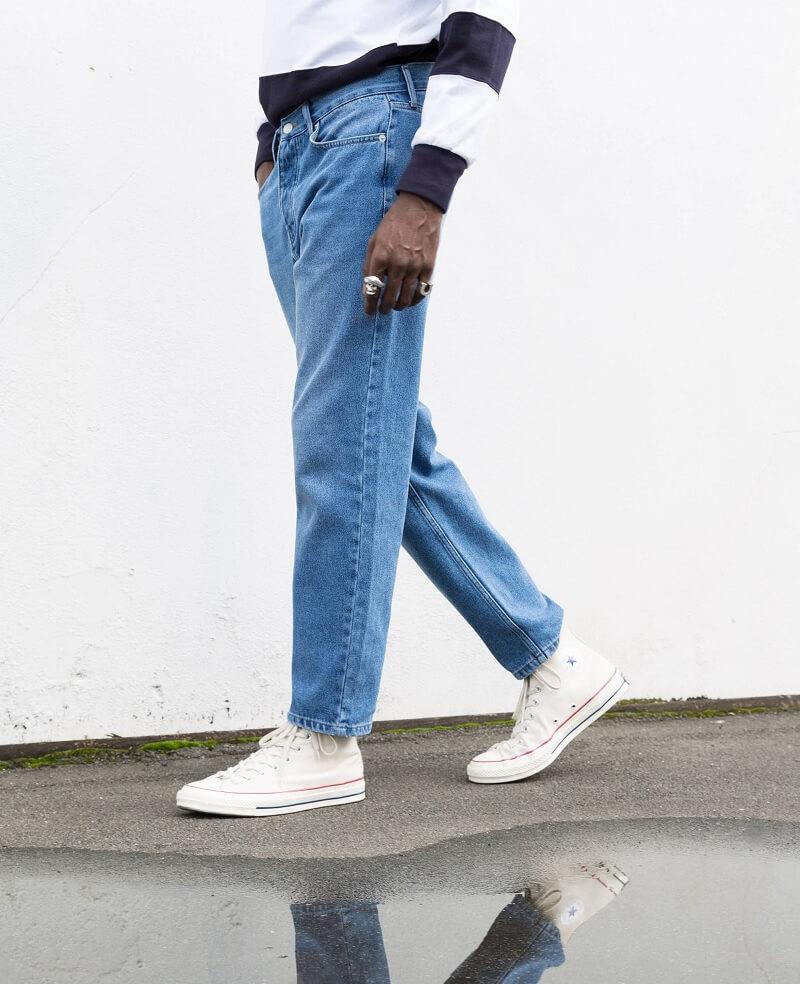 Tips berpakaian untuk pria gemuk - Gunakan Straight Cut Pants