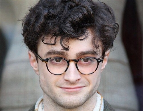 Daniel Radcliffe - Rambut Keriting - Kill Your Darlings