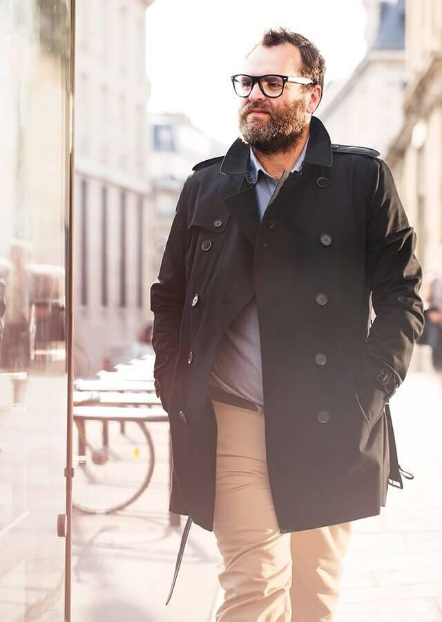 Cara menggunakan baju untuk orang gemuk - Pakai Baju Lengan Panjang