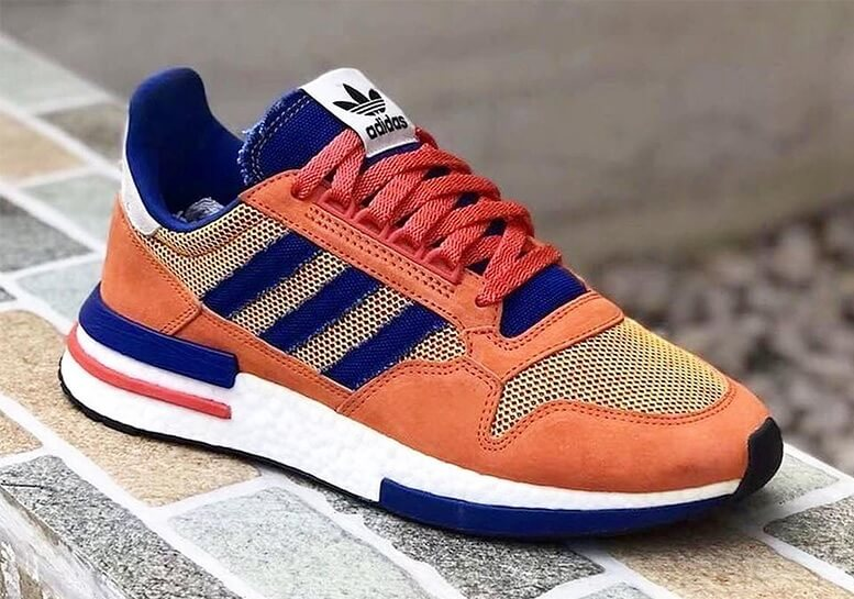 Sneaker Adidas ZX500-RM Goku Close Up