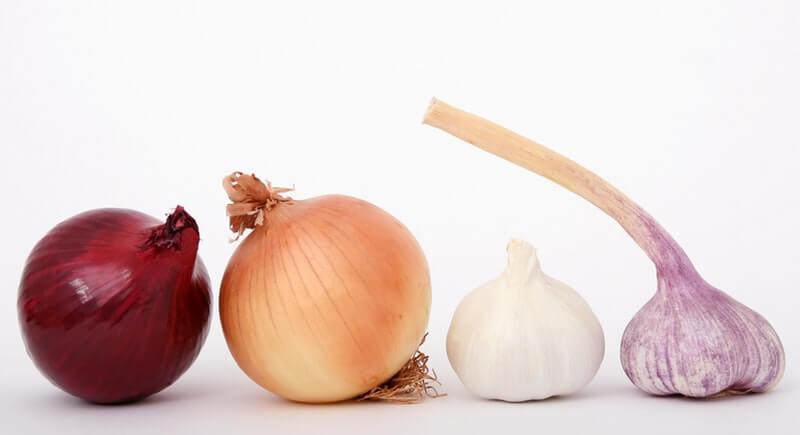 Bawang Putih dapat dipakai untuk Mengatasi Jerawat