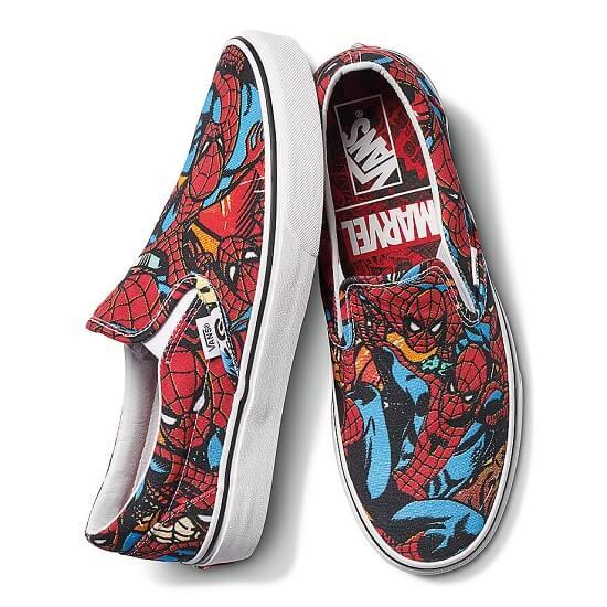 Vans x Marvel Slip On Spiderman