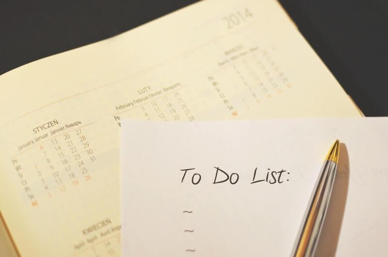 Cara menghilangkan rasa malas bekerja setelah libur panjang - Buat To Do List