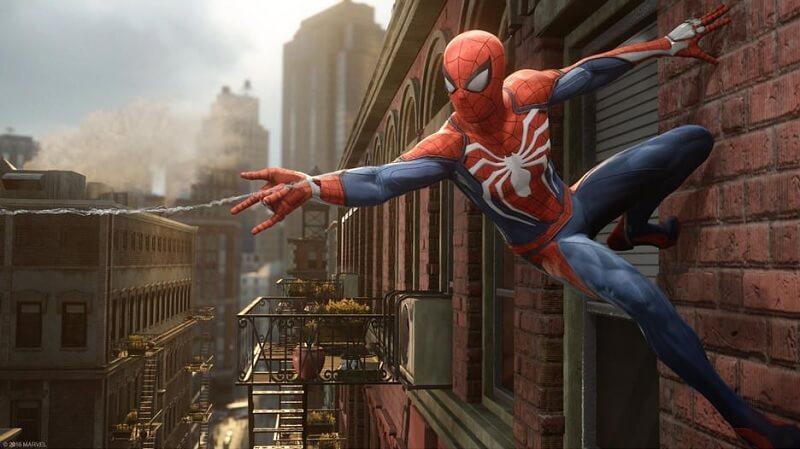 Spiderman beraksi