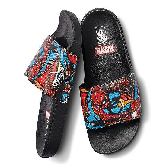 Vans x Marvel Slide On Spiderman