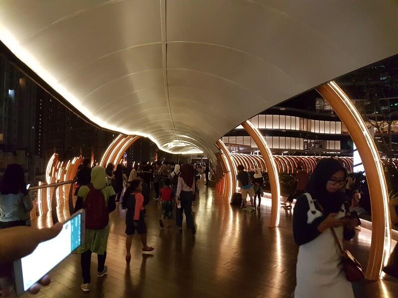 Jembatan NEO SOHO Mall
