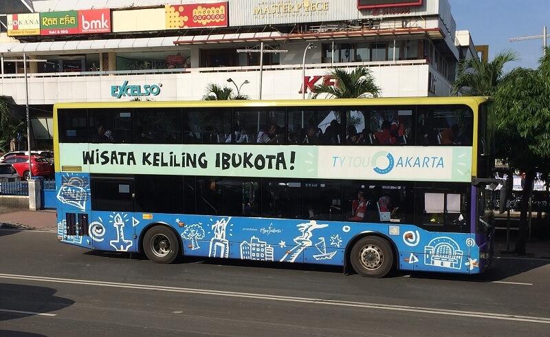 Bus Wisata Gratis Jakarta