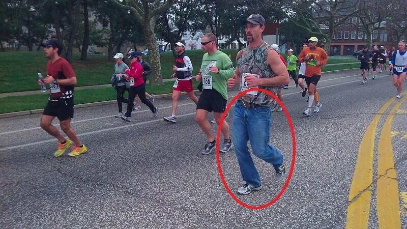 Jeans Jangan Digunakan untuk Olahraga