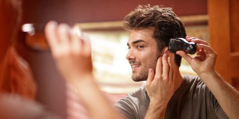 Cara mencukur rambut sendiri untuk pria - mulai dari bagian samping