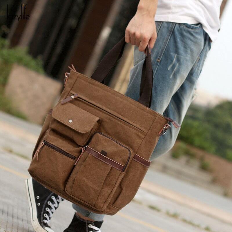 Model Tas Jinjing Pria - Tote Bag Pria
