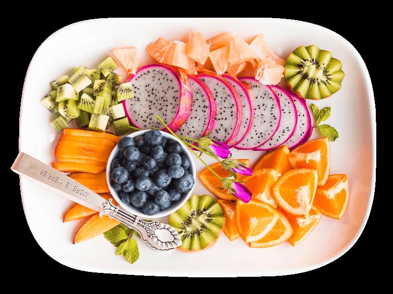 Sempatkan makan buah-buahan 1 porsi setiap hari