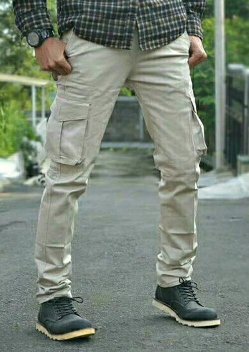 Celana Kargo Panjang Pria