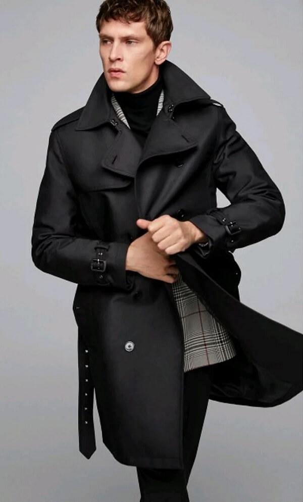 Mantel Musim Dingin Peacoat Zara