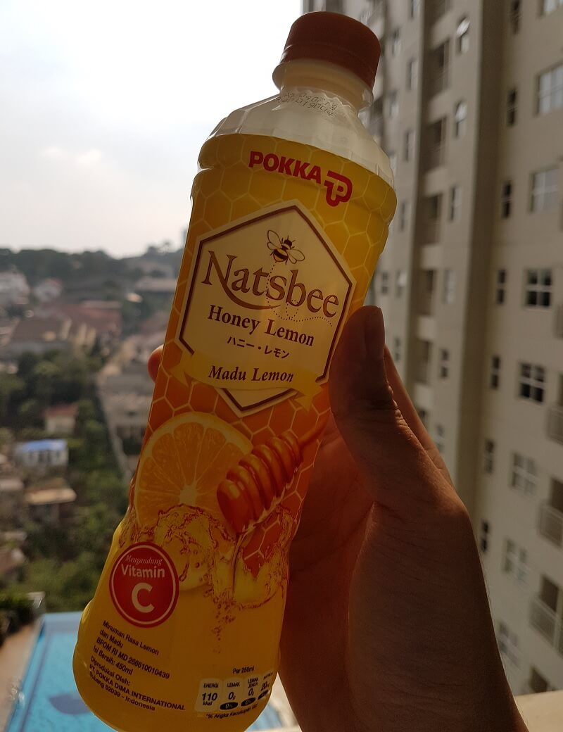 Botol Natsbee Honey Lemon