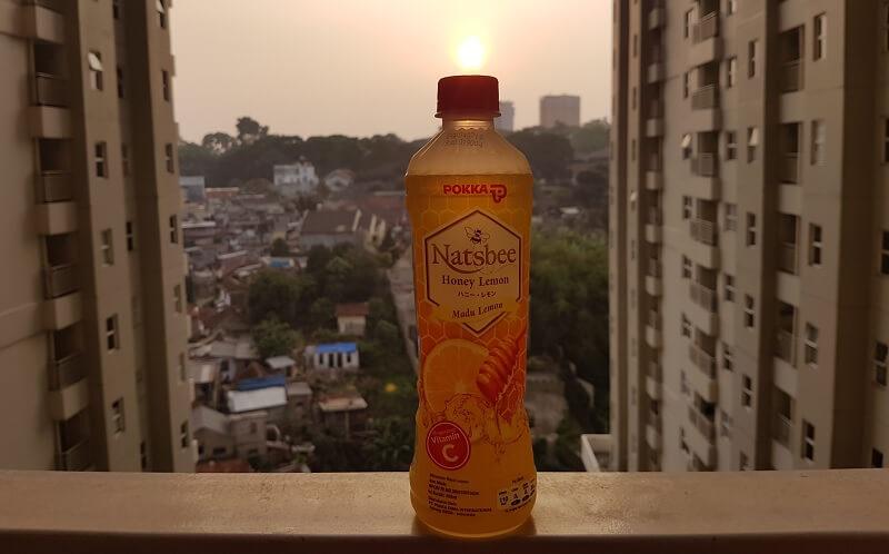 Natsbee Honey Lemon - Minuman Kesehatan