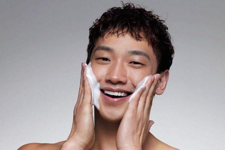 Penggunaan Skincare pada Pria