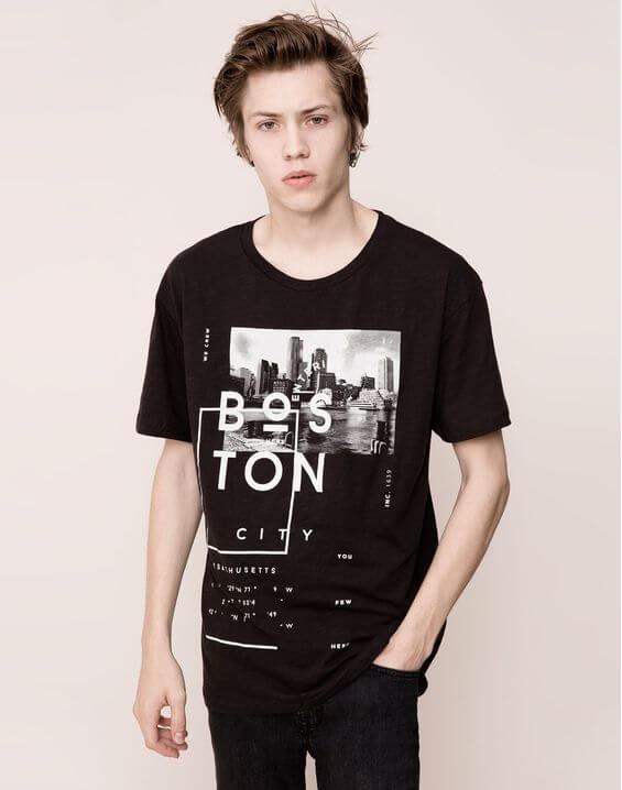 Gaya Kasual Pria - Pakai Graphic T Shirt Pria