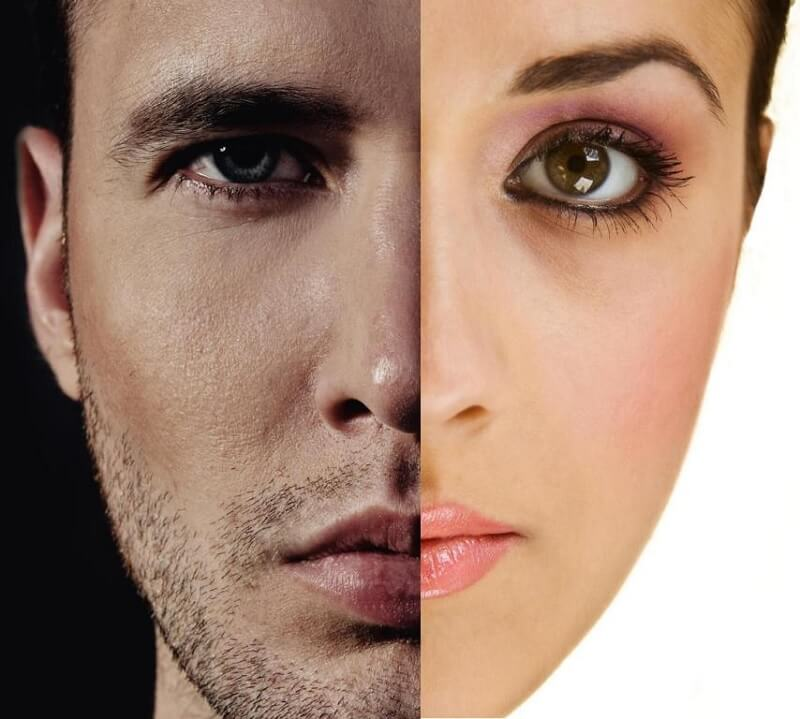 Perbedaan Kulit Pria dan Wanita