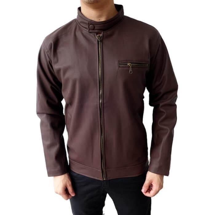 Model Jaket Kulit Pria Terbaru. Jaket Kulit Pria Asli Bulu ... a5823f98a8