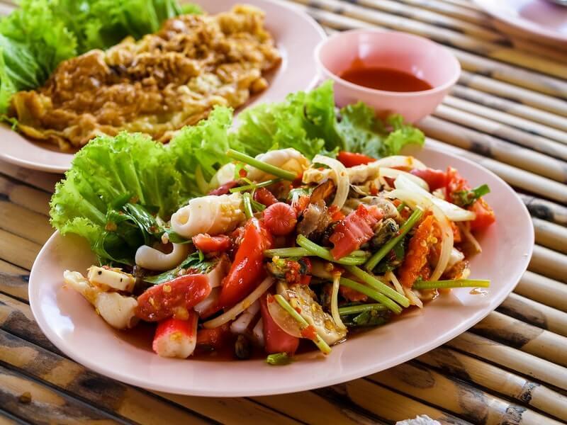 Makanan Vegetarian Porsi Besar