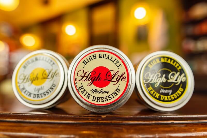 Perbedaan Light Medium Heavy Pomade