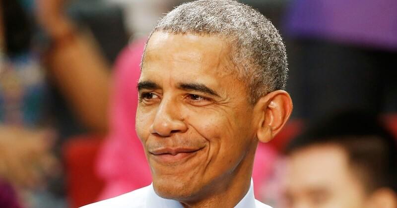 Buzz Cut Obama untuk Rambut Beruban