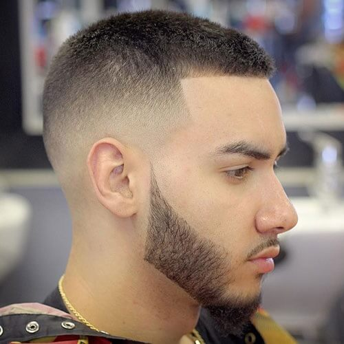 Buzz Cut with Fade