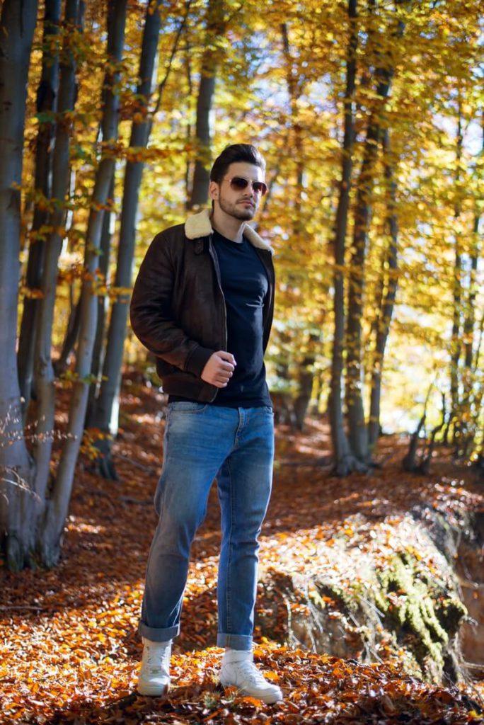 Jaket kulit dapat melindungi dari benda tajam