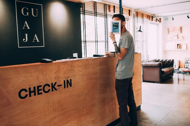 Check in Hotel langsung di Hari H