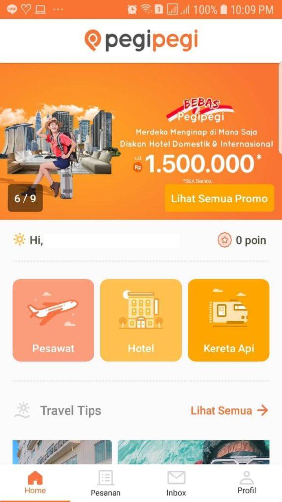 Pesan Hotel Murah dengan Promo di Aplikasi Pegipegi