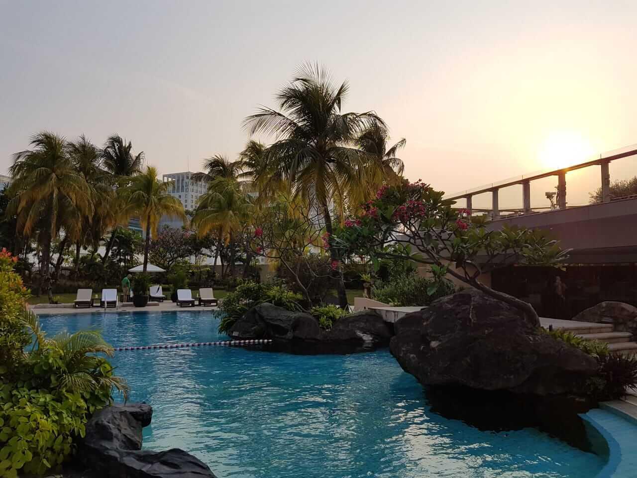 Pemandangan Hotel Grand Hyatt Jakarta