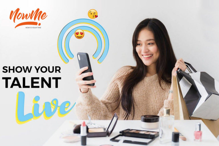 NowMe Live Commerce Banner