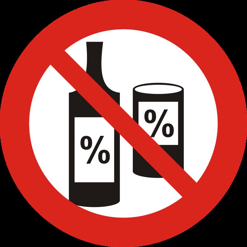 Tidak Mengkonsumsi Alkohol