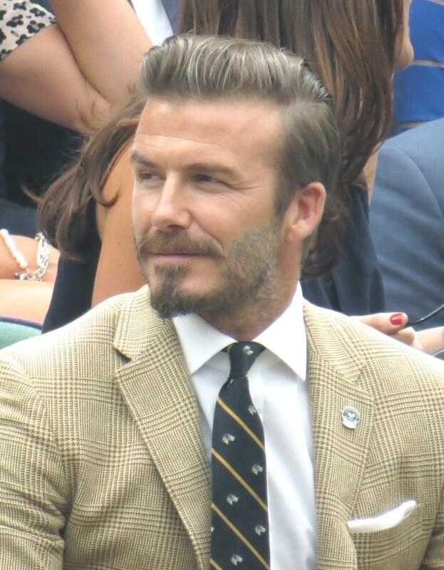 Kumis Chevron Look Beckham