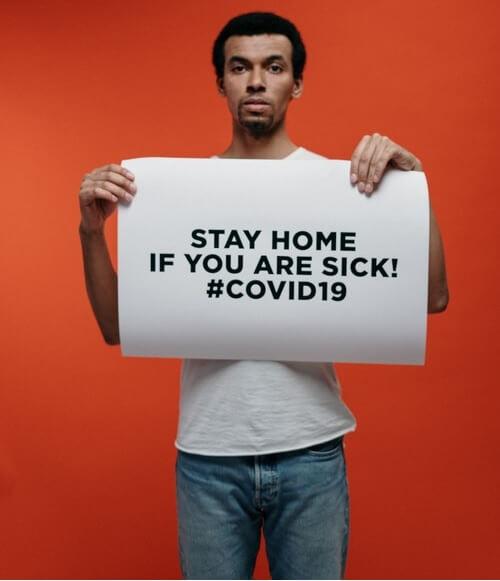 Tetap di Rumah jika Hasil Rapid Test COVID-19 Positif