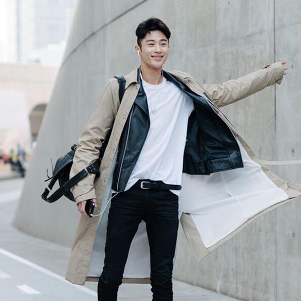 Gaya Fashion Pria Korea Multiple Layered