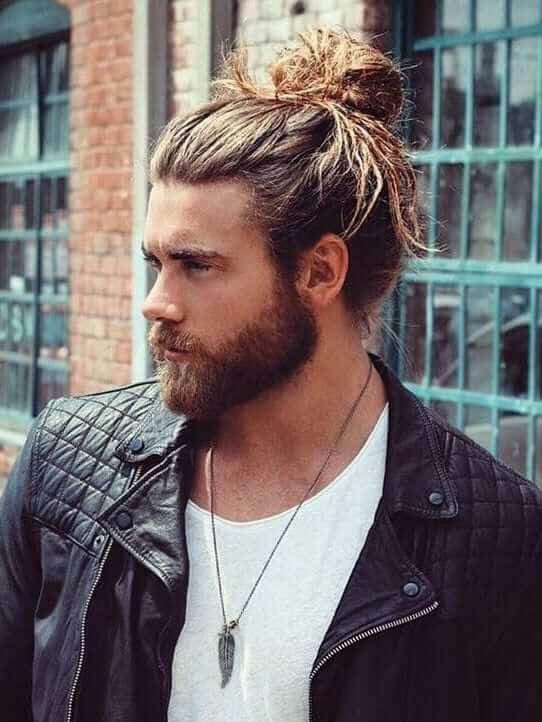 Model Rambut Pria Man Bun - Sloopy Man Bun