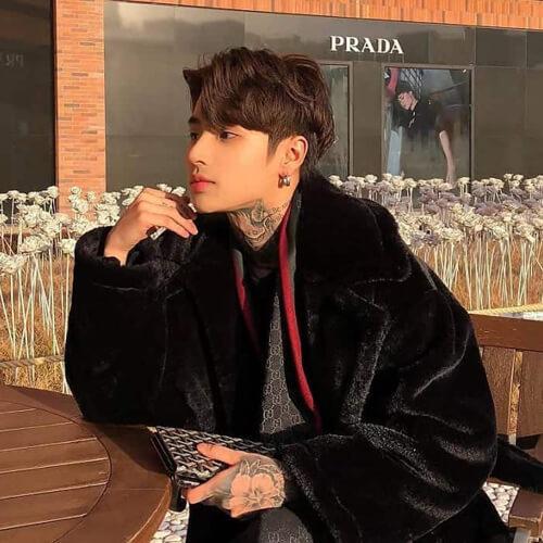 Gaya Rambut Korea untuk Pria - Two-Block