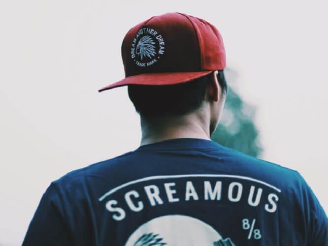 Merk Kaos Lokal Screamous