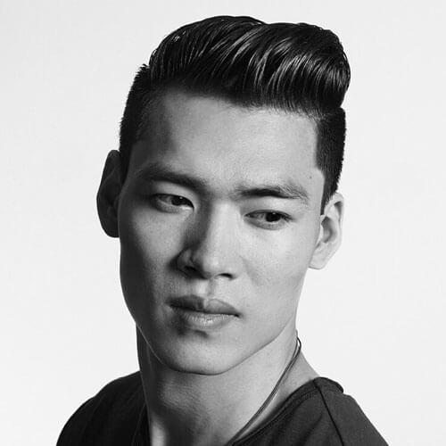 Comb Hair Gaya rambut Pria Jepang