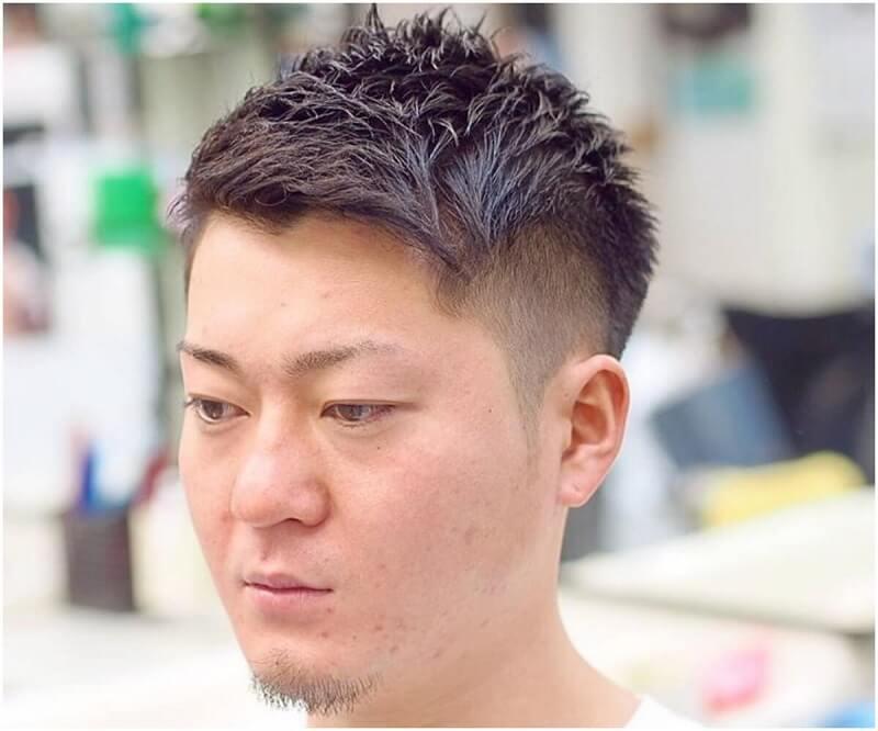 Medium Undercut - Gaya rambut Pria Jepang