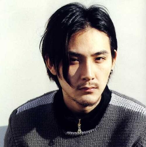 Gaya rambut cowok Jepang Curtains Hair