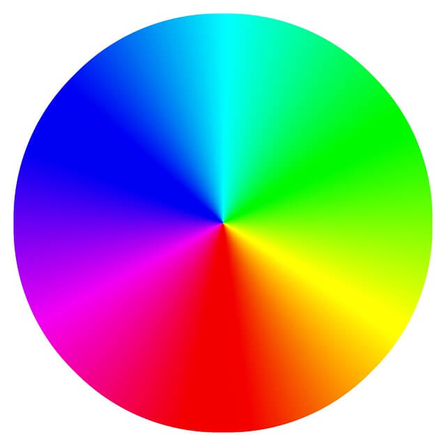 Roda Warna Color Wheel
